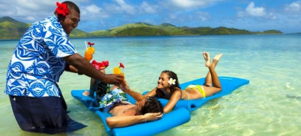 Turtle Island Fiji all inclusive luxury resort