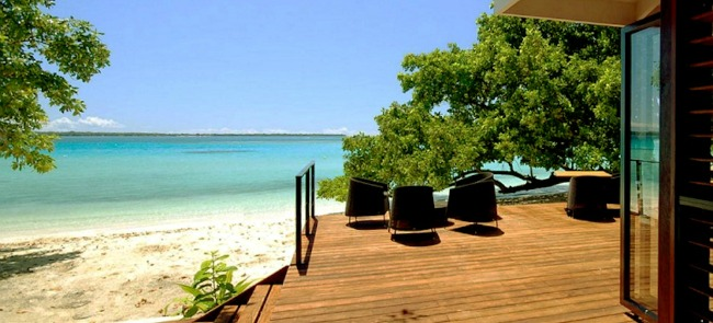 moyyan house by the sea vanuatu couples holiday. Black Bedroom Furniture Sets. Home Design Ideas