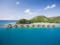 Likuliku Lagoon Resort Fiji over water